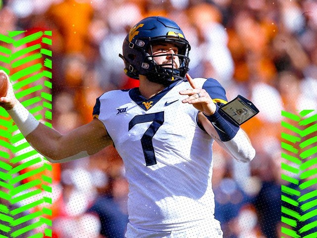 Why Will Grier is probably the 3rd-best quarterback in the NFL Draft