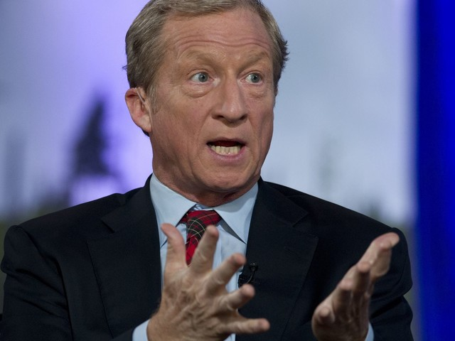 Tom Steyer's climate plan calls for crackdown on 'environmental crimes against humanity'
