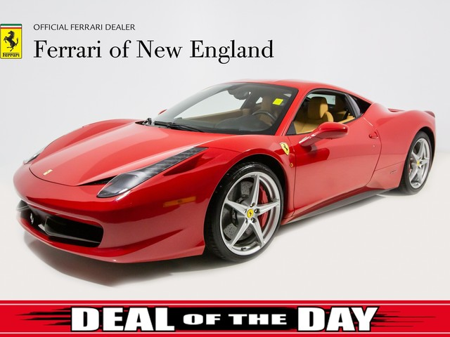 2010 Ferrari 458--Italia