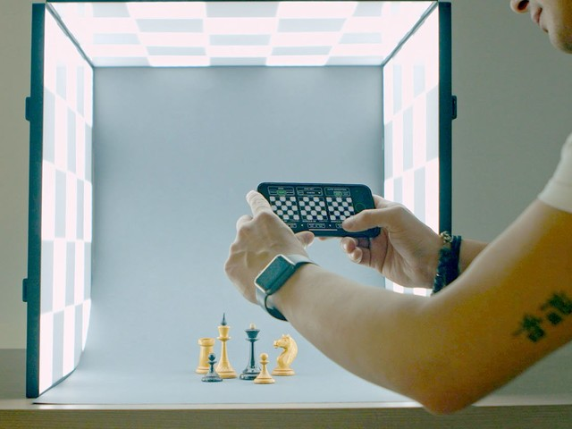 Photon is a Mini Product Photo Studio with Ultra-Flexible LED Lighting