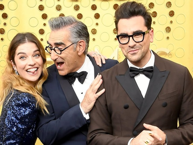 I Might Frame These Adorable Photos of the Schitt's Creek Cast at the Emmys