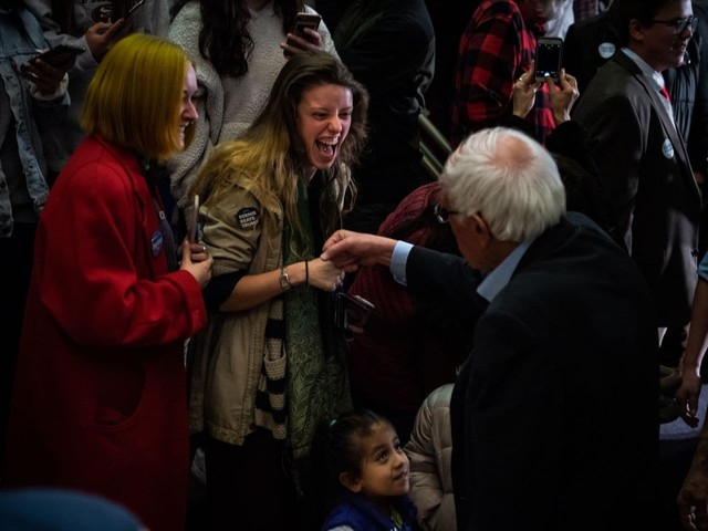 Sanders tells supporters to cool it — but they don't always listen