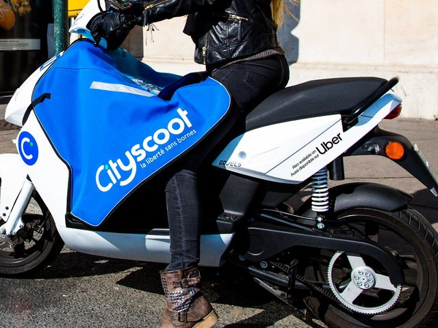 Uber is adding electric mopeds to its app in Paris