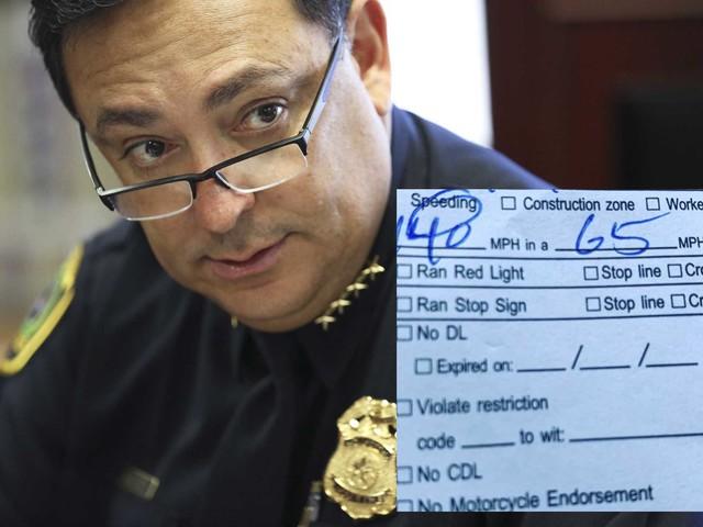 Houston police chief writes 140 mph speeding ticket to driver of Dodge Viper