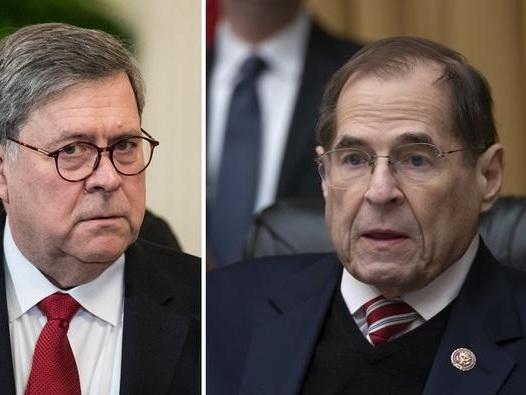 Nadler Schedules Barr Contempt Vote Amid Mueller Report Standoff