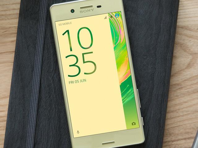 Sony Xperia X receives Android 7.1.1 through Concept program