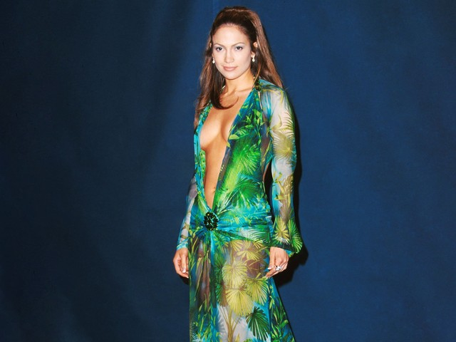 J.Lo Just Wore The Robe Version Of The Jungle Print Dress
