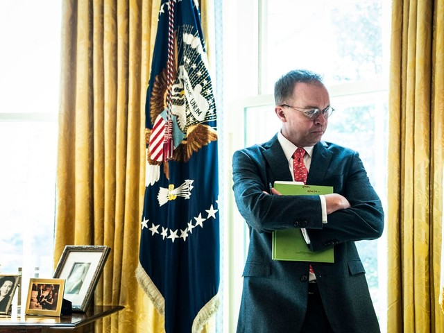 'His own fiefdom': Mulvaney builds 'an empire for the right wing' as Trump's chief of staff