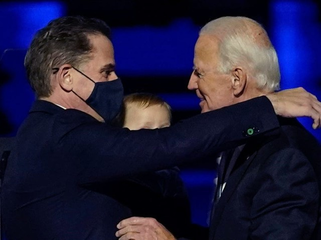 'My boy's back': Biden says reading son Hunter's upcoming memoir 'gave me hope'