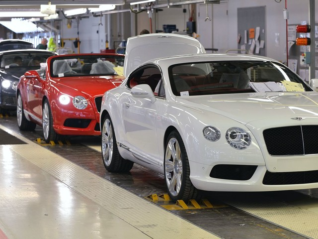 Official: Bentley Cutting 1,000 Jobs, Roughly A Quarter Of Its UK Workforce