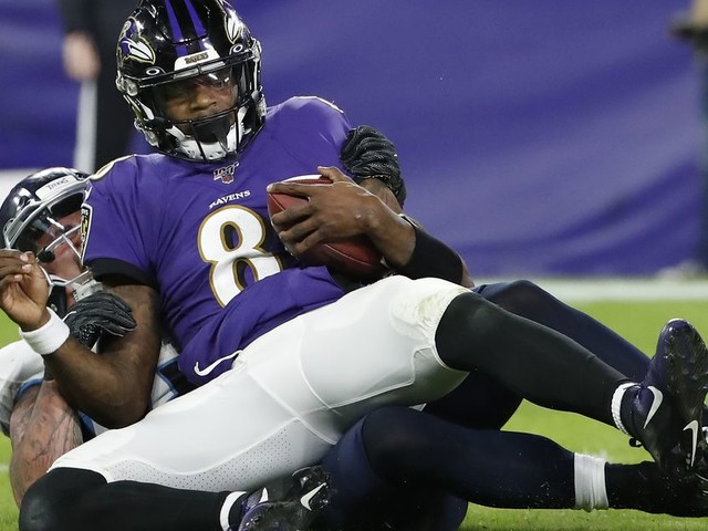 The Ravens Just Had an All-Time Playoff Collapse Against the Titans