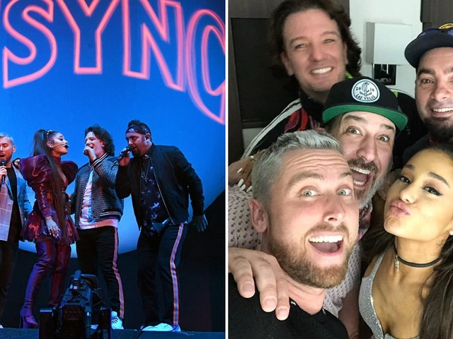 Ariana Grande Performed With *NSYNC at Coachella, 2000s Choreography and All