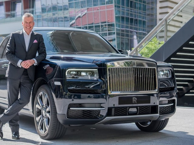 Rolls-Royce's CEO on how the brand increased sales by 25% in 2019, and what it's doing to prepare for its first electric car