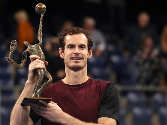 Andy Murray wins 1st ATP final since hip surgery