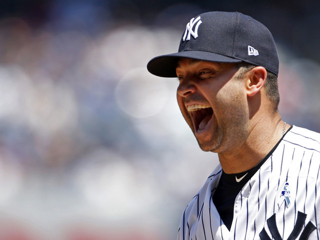 Nick Swisher, Jason Giambi, New Grandpa Andy Pettite Make Old-Timers' Day Debuts At Yankee Stadium