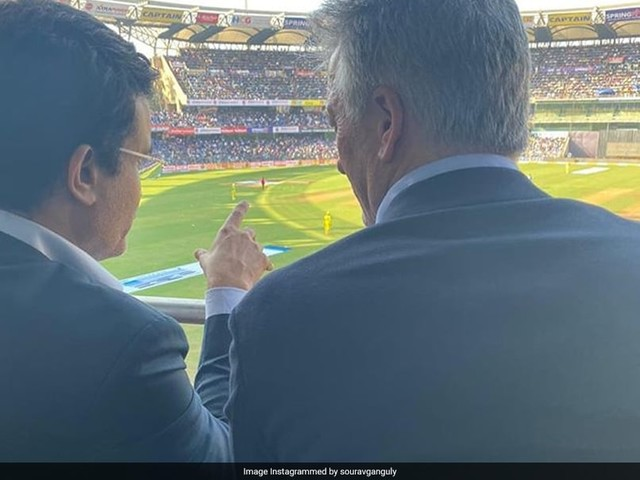 Ganguly, Waugh Unite At Wankhede To Send Fans Into Nostalgia