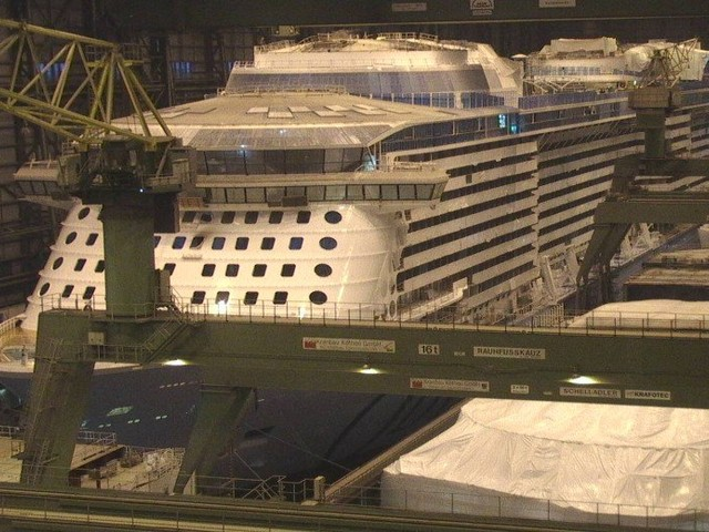 Odyssey of the Seas construction photo update - October 20, 2020