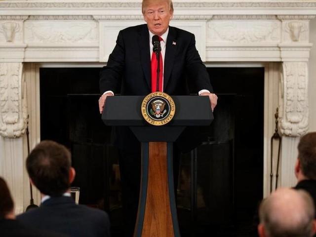 Trump, press trade good-natured if barbed jokes at Gridiron