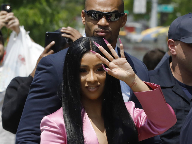 Cardi B makes court appearance in strip club melee