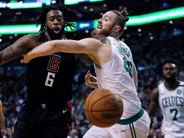 DeAndre Jordan has 30 points and 13 rebounds in Clippers' win over Celtics