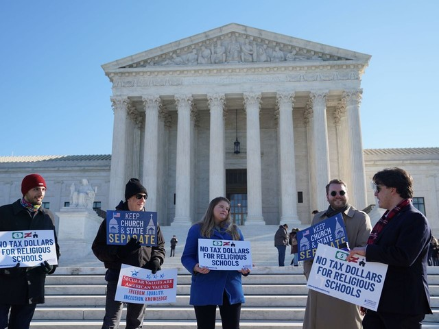 Supreme Court's conservatives seem open to some state aid for religious schools
