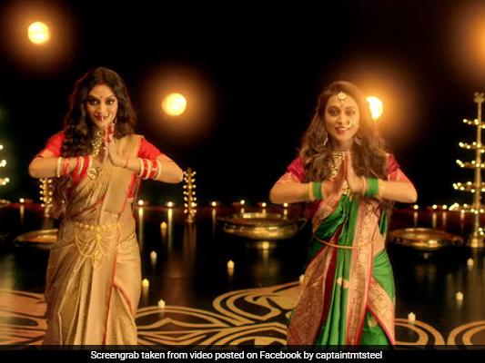 MPs Nusrat Jahan, Mimi Chakraborty's Dance Tribute To Maa Durga Is Viral