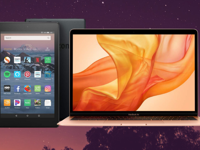 Laptops and tablets on sale: Shop Fire tablets, MacBooks, and more all weekend