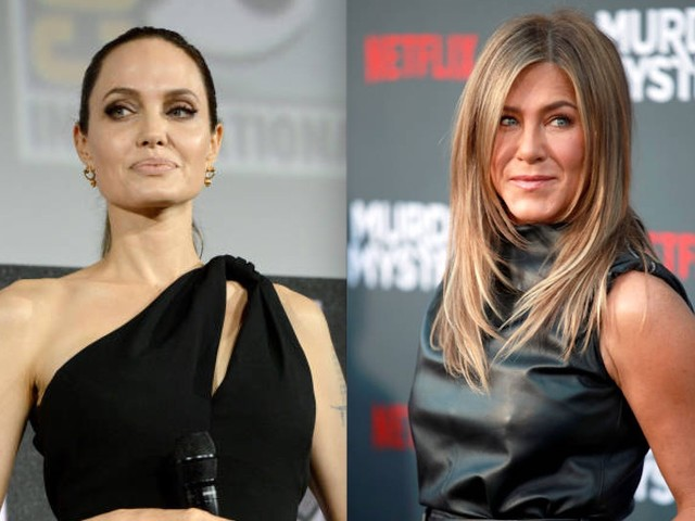 Truth About Jennifer Aniston And Angelina Jolie Feuding
