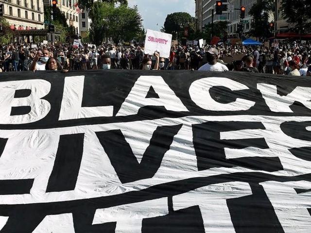 Black Lives Matter leader promises 'uprising' against 'racist' vaccine mandates