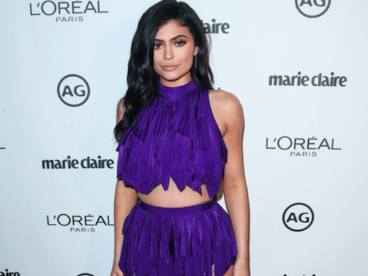 Kylie Jenner May Have Just Given a Sneak Peek of Her Baby Bump