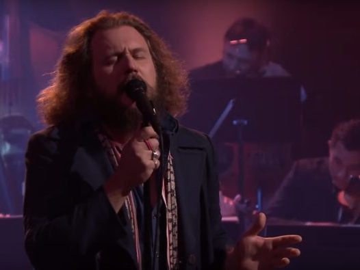 """Watch Jim James & The Louisville Orchestra Perform """"Back To The End Of The World"""" On Fallon"""