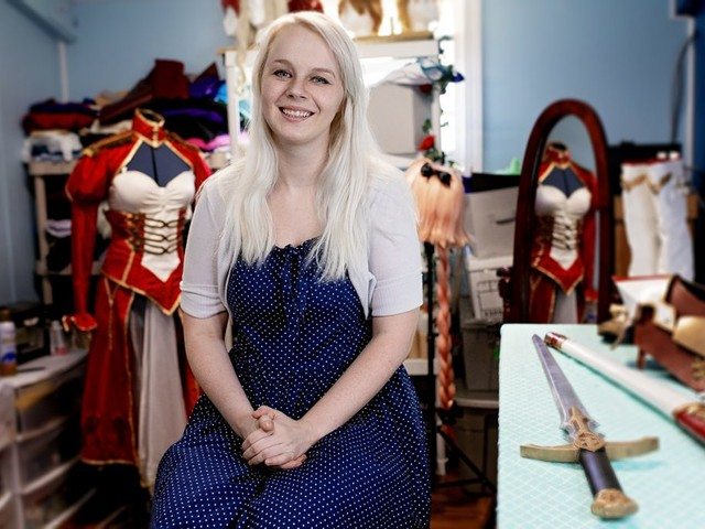 How This Woman Turned Her Love of Cosplay Into a Side Gig Making Costumes