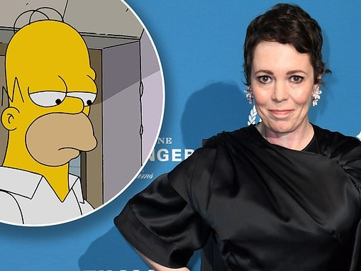 Olivia Colman to voice the role of 'femme fatal who falls madly in love with Homer' on The Simpsons
