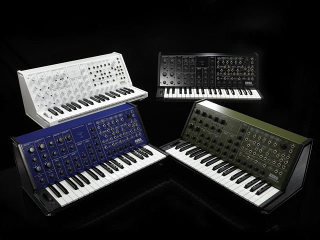 Return of full-sized KORG MS-20, as retro trend continues