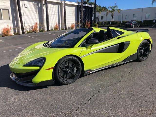 2020 McLaren 600LT--Spider Base