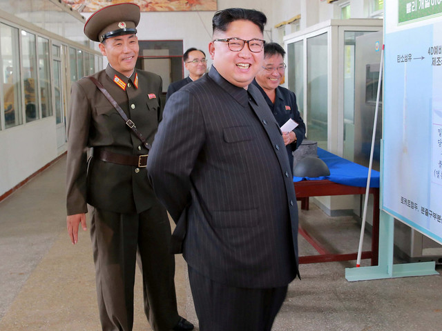 North Korea 'Readying Launch Of Ballistic Missile'