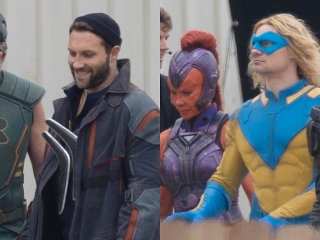 'The Suicide Squad' Cast Spotted in Costume for Big Group Scene - New Photos!