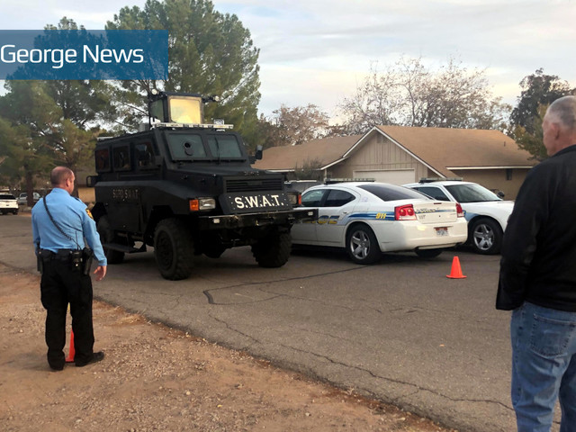 St. George SWAT responds when grandson allegedly assaults his 93-year-old grandmother