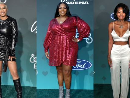 The Theme For This Year's Soul Train Awards Red Carpet? The Shinier The Better