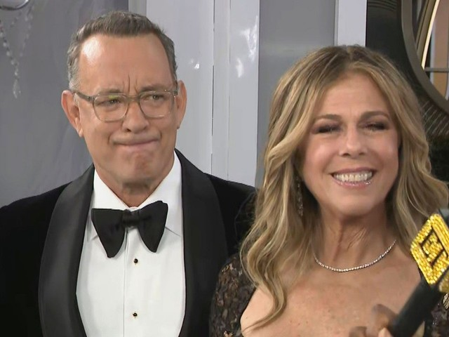 Tom Hanks Gets Choked Up Accepting Cecil B. DeMille Award at 2020 Golden Globes