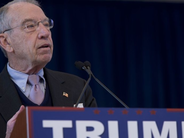 Sen. Grassley tells Trump to 'reconsider' two judicial picks