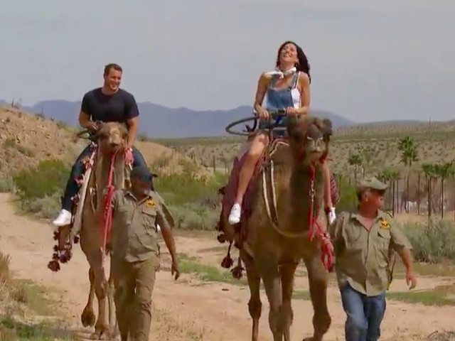 'The Bachelorette' Week 5: Camel rides, song writing and a 2-on-1, oh my!