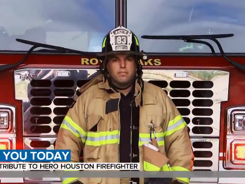 Houston firefighter gets unexpected gift on 'TODAY' for hard work amid COVID-19