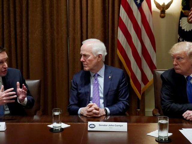 Top Senate Democrat slams Trump's response to Khashoggi killing, says president is making US look 'weaker' than ever by kowtowing to Saudis