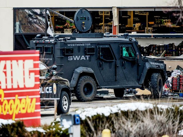 43 new charges filed against suspect in Colorado mass shooting