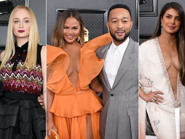 The 12 best-dressed celebrity couples at the 2020 Grammys
