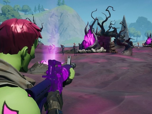 Fortnite's new island has already changed, just in time for Halloween