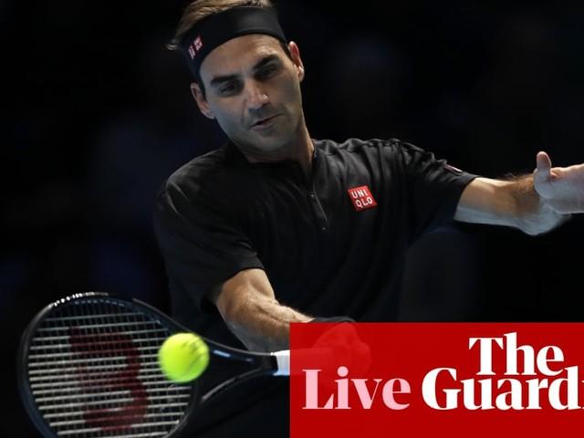 Stefanos Tsitsipas v Roger Federer: ATP Finals semi-final – live!
