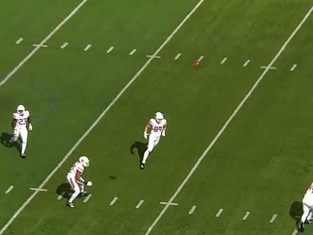 Rutgers' invisible kick returner really goofed up here
