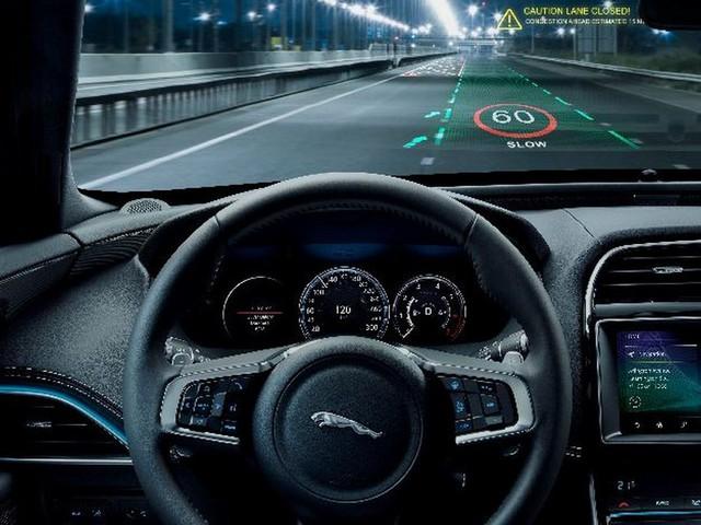 Jaguar Land Rover Developing Innovative 3D Head-Up Display
